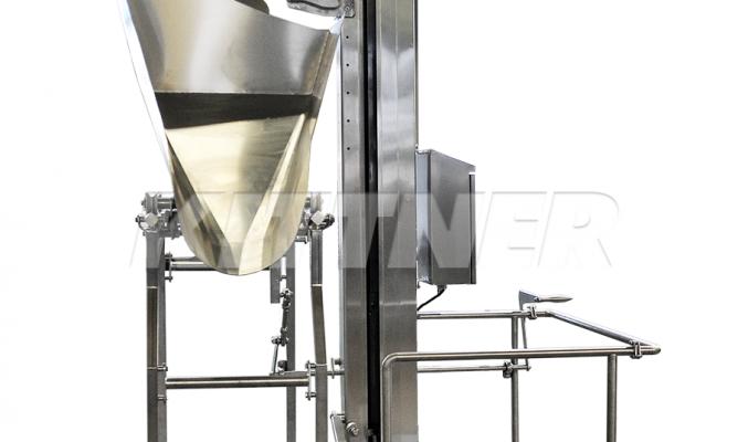 Одноколонный подъемник — универсальный помощник в мясной промышленности